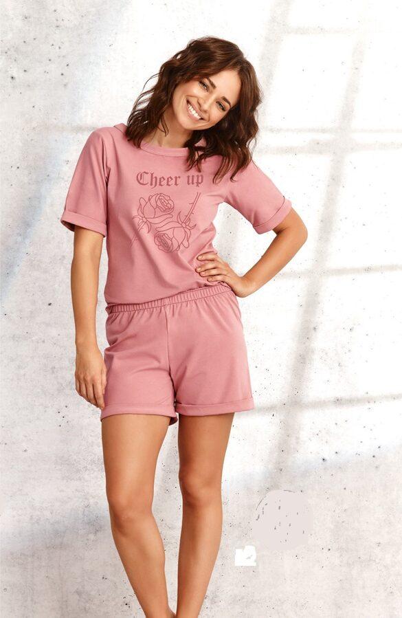 Pidžama KORA 980151 rozā